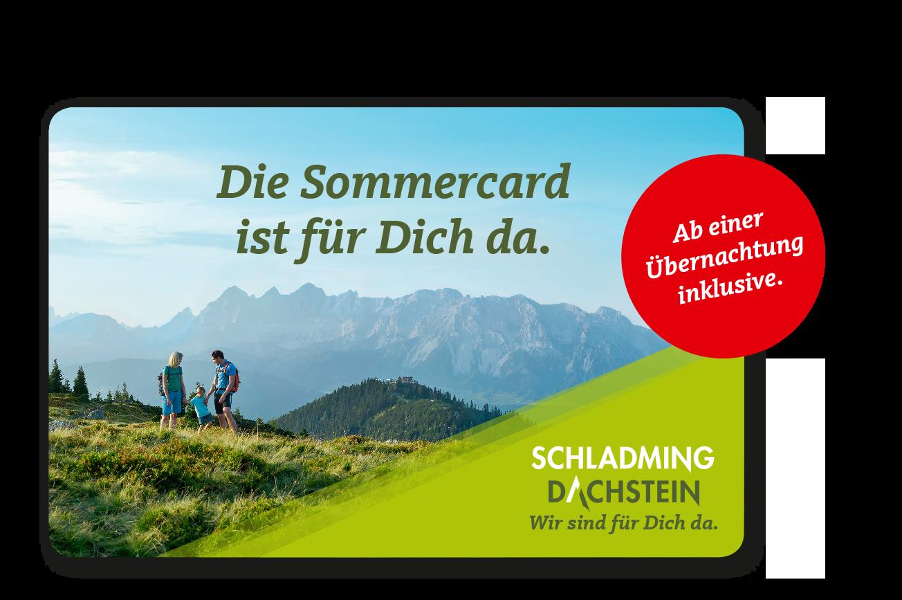 Dachstein Karte.Sommercard Für Die Region Schladming Dachstein